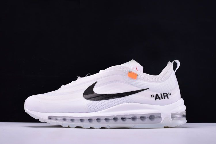 78eac65cd563 Latest OFF-WHITE x Nike Air Max 97 OG White Cone-Ice Blue AJ4585-100 ...