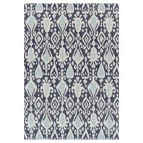 Add A Burst Of Style To Your Patio Or Deck With The Threshold Ikat Blue Outdoor
