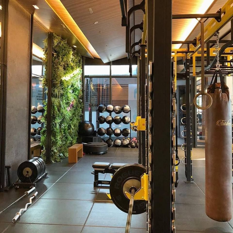 Neoflex Premium Gym Tiles At Babel Fit In Kuala Lumpur Malaysia Photo Courtesy Of Gym Marine Yachts Interiors Gym Flooring Gym Flooring Rubber At Home Gym
