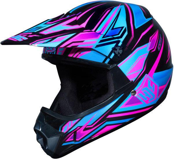 Fulcrum Mc 8 Cl Xy Kids Pink Hjc Motocross Helmet Dirt Bike Gear
