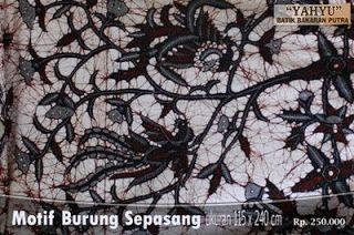 Batik Bakaran motif Burung Sepasang dari Juwana  cc63d80709