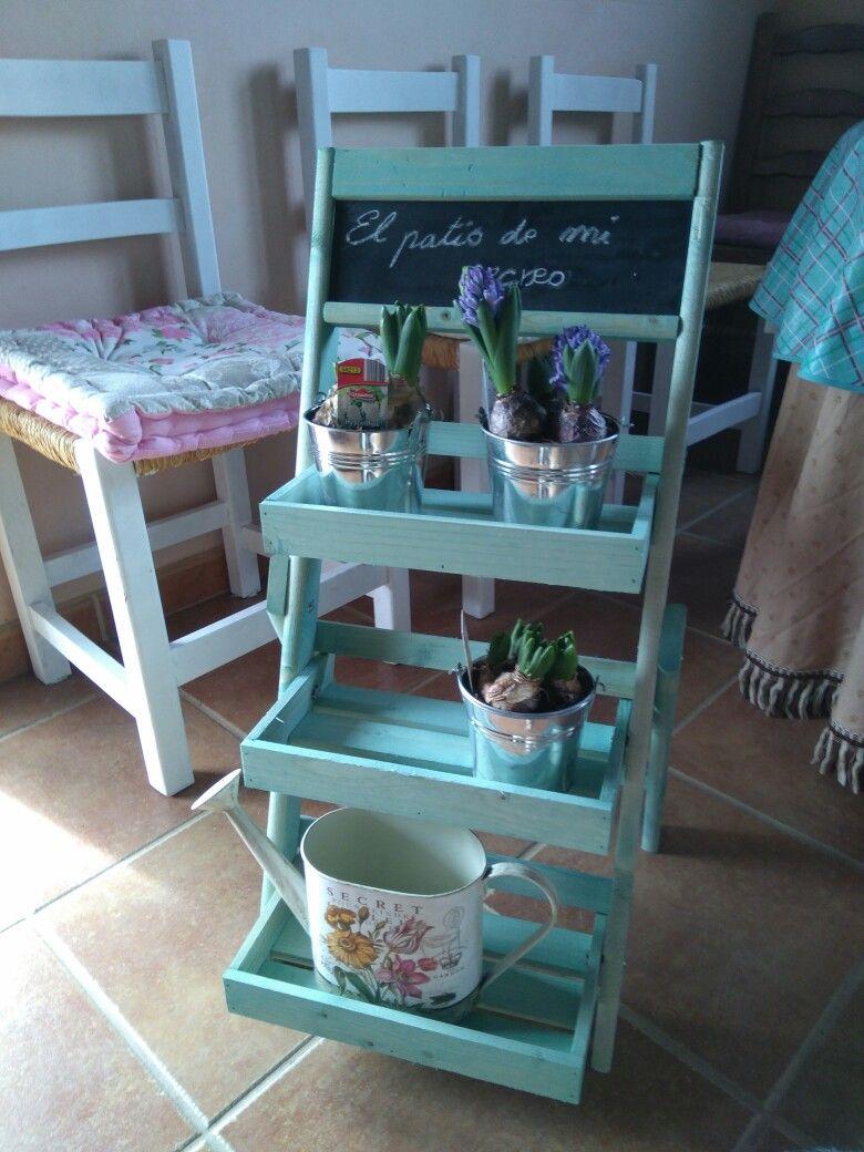 Estantería escalera de lidl. Me encanta!!! | dulce hogar | Pinterest ...