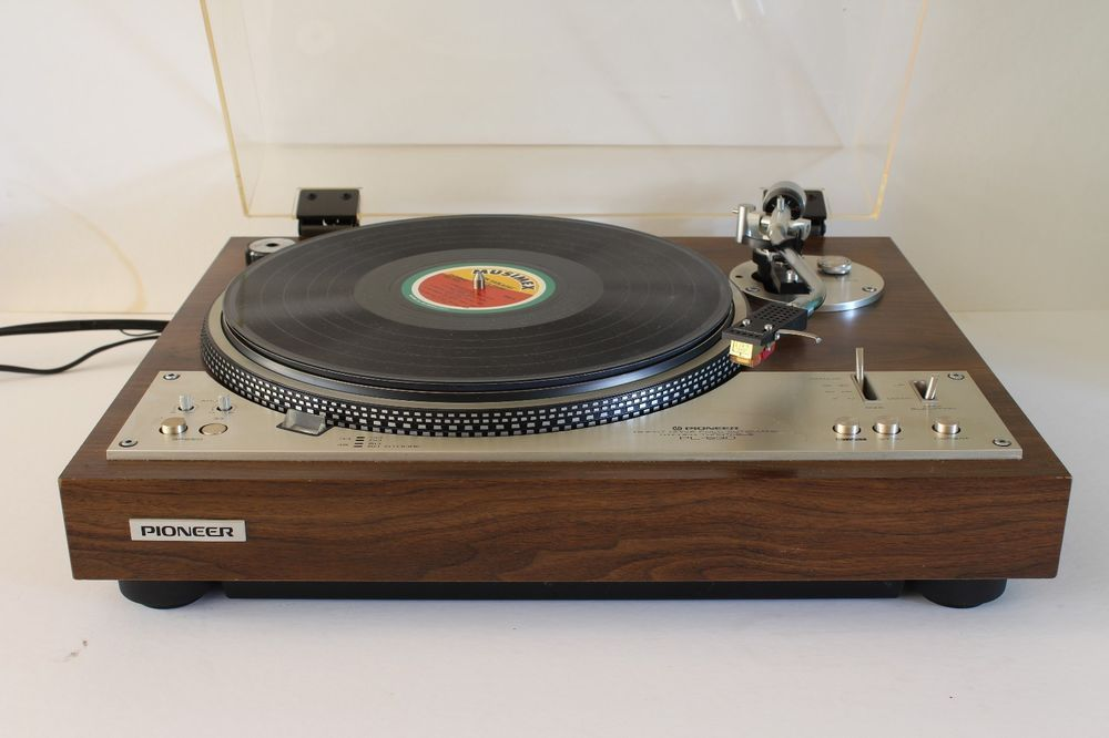 vtg PIONEER PL-530 DIRECT DRIVE TURNTABLE old school v roce