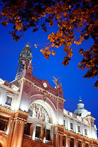 Correos.  Oficina postal.  Valencia.  Comunidad Valenciana.  España.