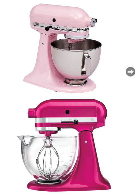Style news: Think pink | Kitchenaid pink, Kitchen aid mixer ...