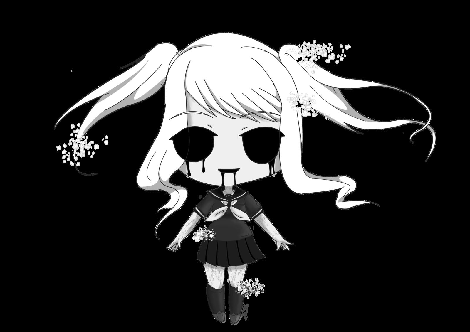 Chibi Fun Girl By HighLittleSky