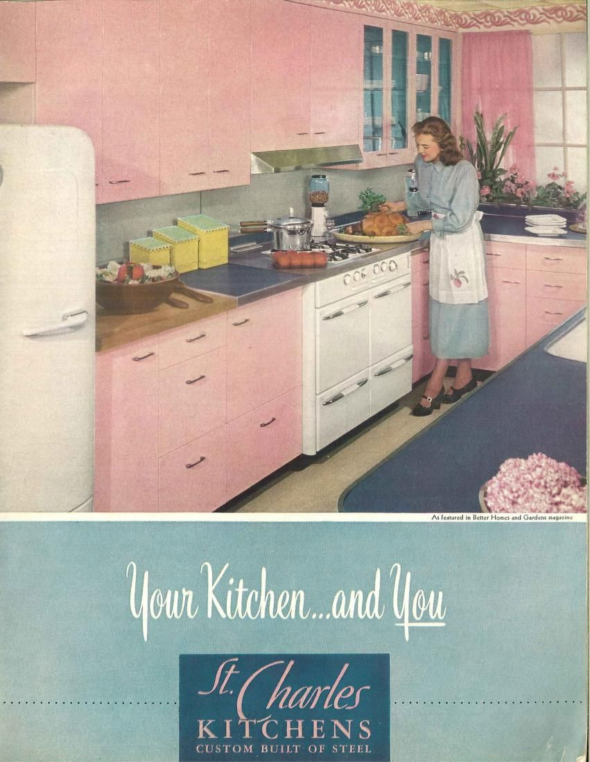Your Kitchen And You St Charles Kitchens St Charles Manufacturing Co Free Download Borrow And Streaming Internet Archive Metal Kitchen Cabinets Electric House Vintage Kitchen