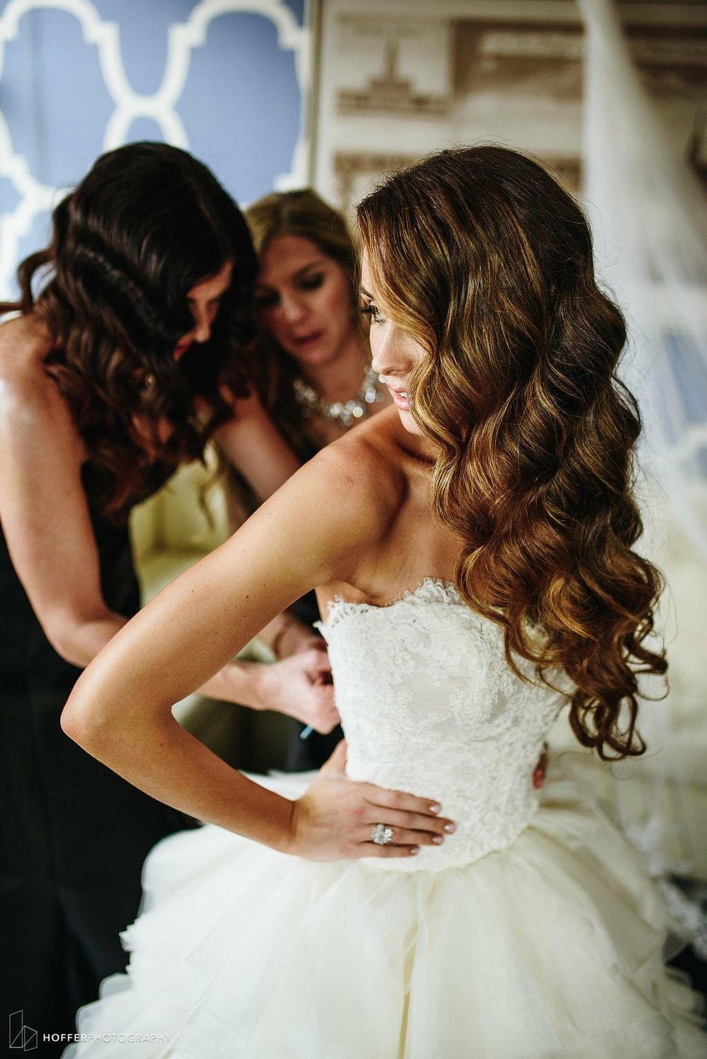 Big Curls Wedding Hair Wedding Hair Colors Wedding Hairstyles