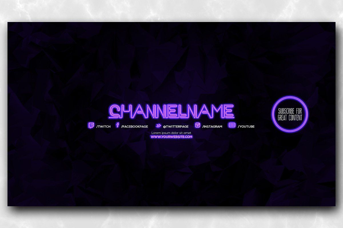 10 Youtube Channel Art Banners Vol 1 Youtube Channel Art Channel Art Youtube Banner Backgrounds
