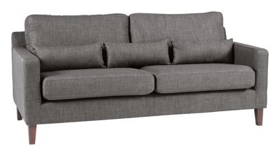 Leather Sofa The Arden sofa range offers fort and style with its lumber support cushions This sofa