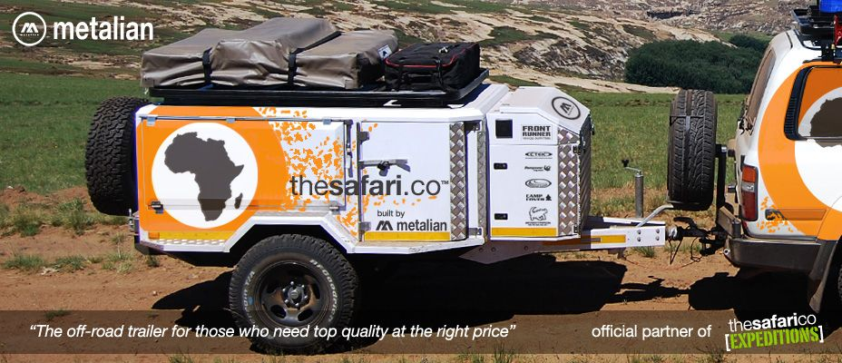 Metalian Off Road Trailers | 4x4 Trailer Designers | C&ing Trailers Made In Africa : 4x4 tent trailer - memphite.com