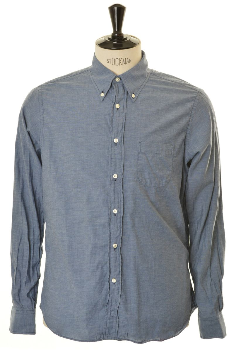 INDVIDUALISED SHIRTS C31NCO - Indigo Button Down