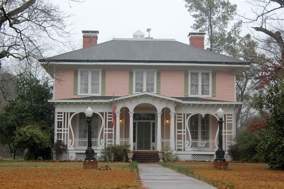 Graham Gaughan Betts House Camden Arkansas Built In