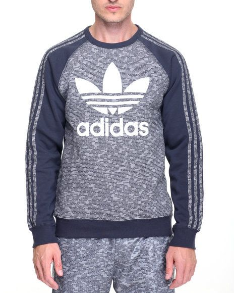pretty nice 16392 e5c7e Find ESSENTIAL A O P CREWNECK SWEATSHIRT Men s Sweatshirts   Sweaters from  Adidas   more at DrJays. on Drjays.com