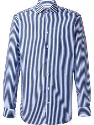Casual azul Farfetch Slim El Azul Camisa Etro OUp4RR
