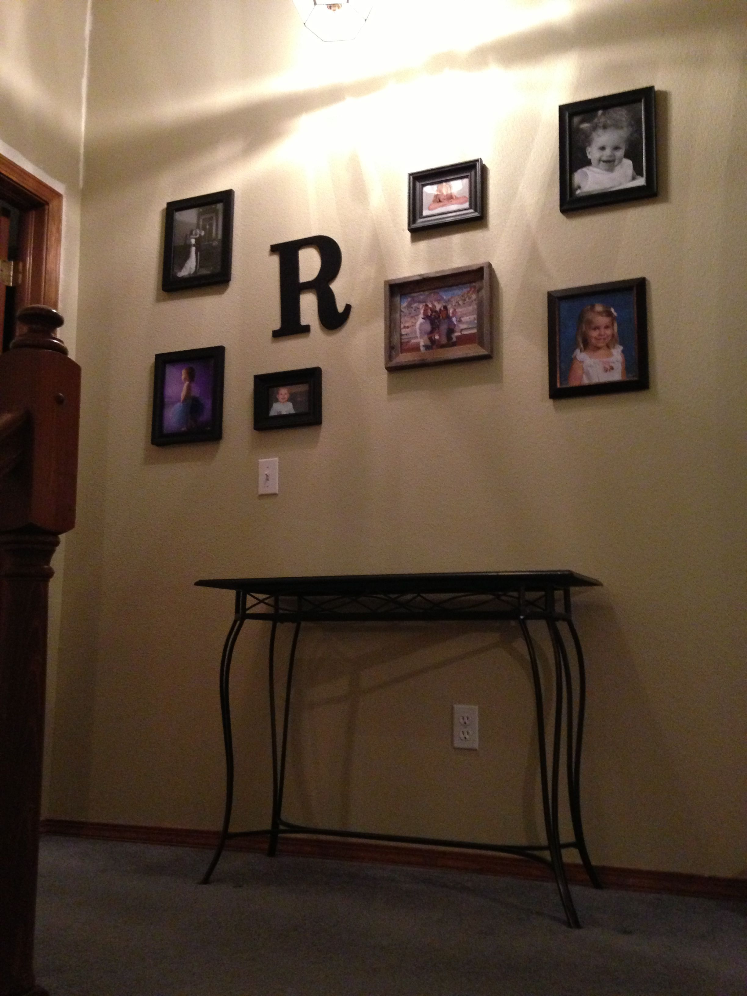 Upstairs Foyer Ideas : Upstairs entryway photo collage paint baja by behr home ideas