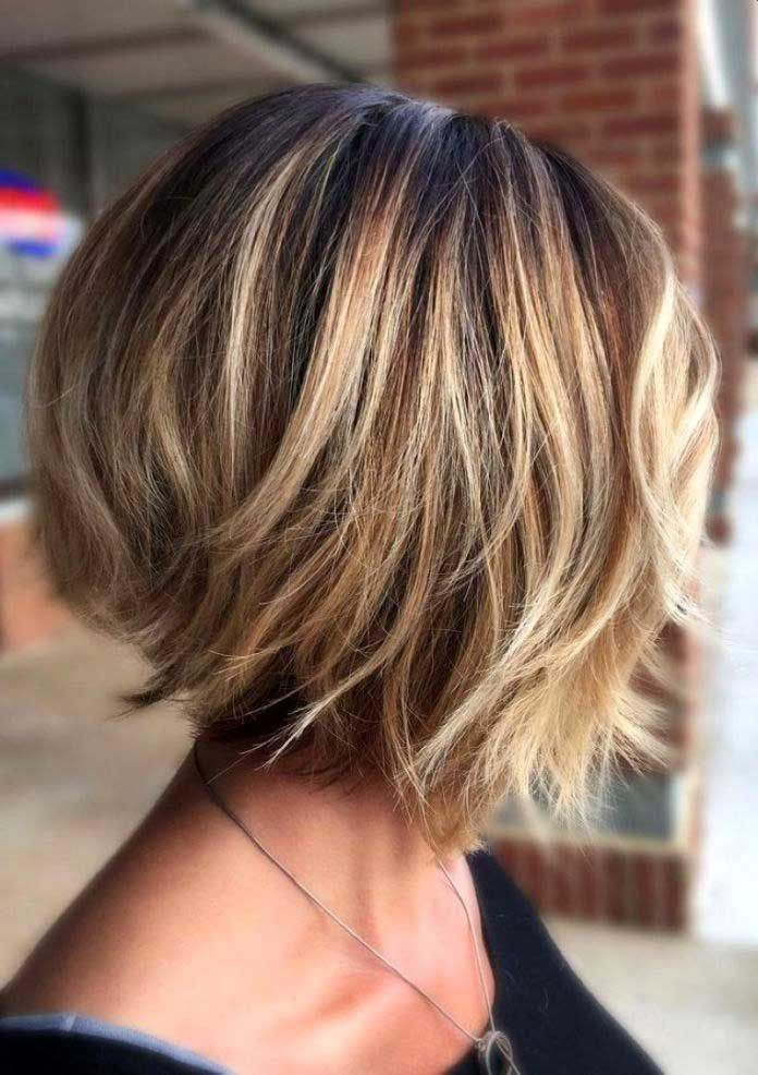 Awesome Stylish Layered Bob Hairstyles for Women - Best Home Design Ideas