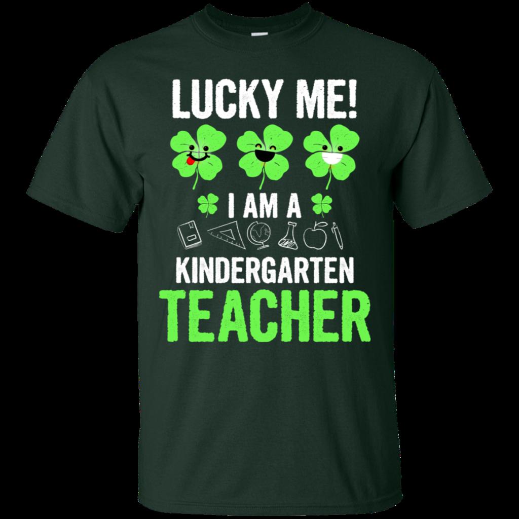Lucky Me I Am A Kindergarten Teacher Happy Patricks Day