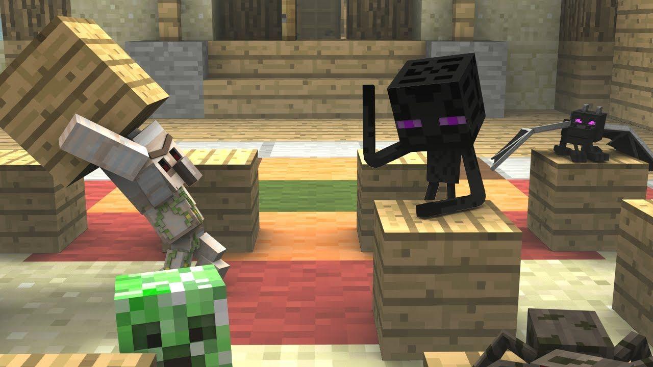 Monster School Preschool Dodgeblock Minecraft Animation Monster School Minecraft Videos Minecraft School