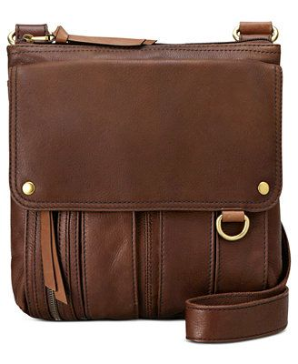 Fossil Morgan Leather Traveler Crossbody Bag 168 Other Colors On