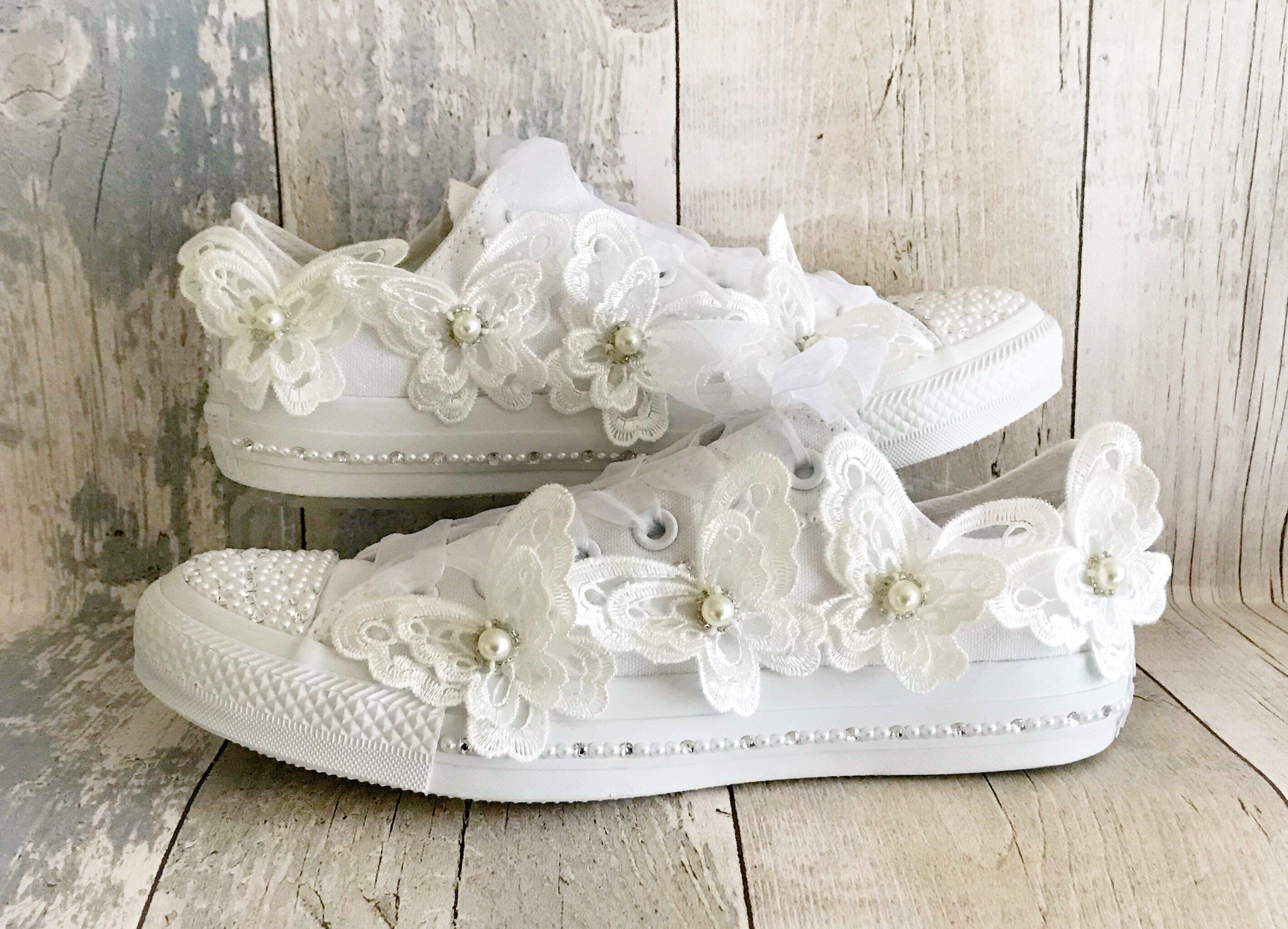 50052ac9da2f Bridal Shoes · Wedding Shoes · Communion Dresses · A personal favourite  from my Etsy shop https   www.etsy.com