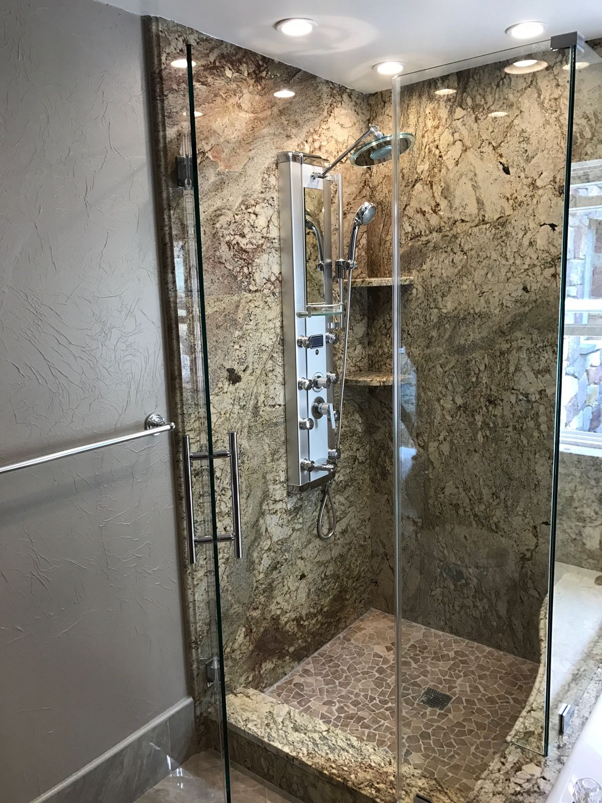 Modern Frameless Glass Shower Enclosure Frameless Glass Shower