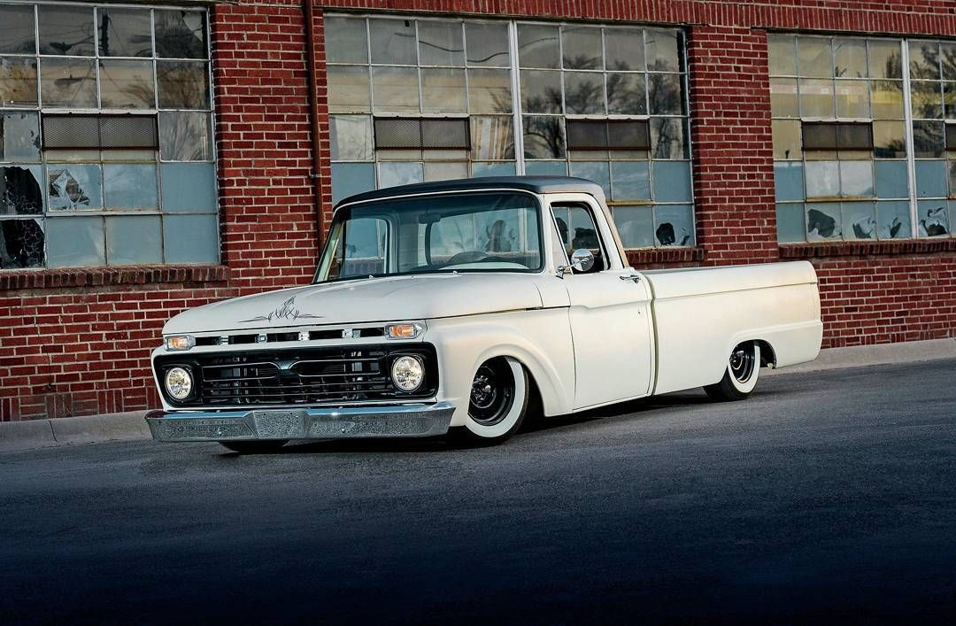 66 Ford F 100 With Images Old Ford Trucks Classic Ford Trucks