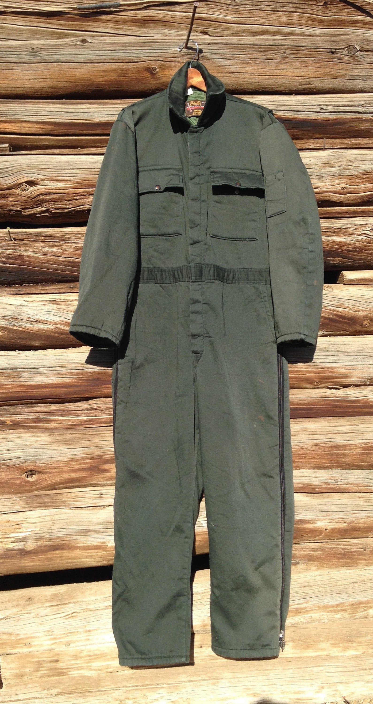 walls coverall farm wear dark green insulated mid weight on walls coveralls for men insulated id=82941