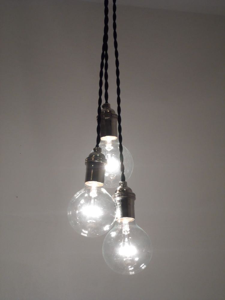 Metal cage pendant light modern industrial edison lamp island lighting guard