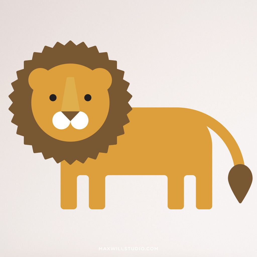 Safari Animal Wall Decals | Animal wall decals, Safari animals and ...