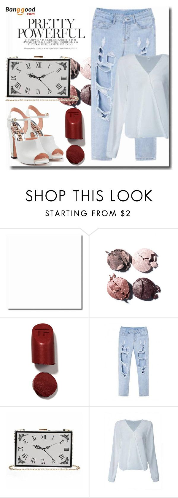 """Banggood 8/2"" by goldenhour ❤ liked on Polyvore featuring Chanel, Tom Ford and Rochas"