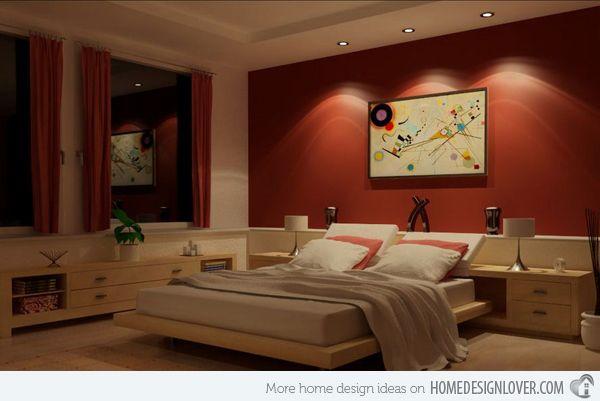 15 Invigorating Red Bedroom Designs Bedroom Color Combination