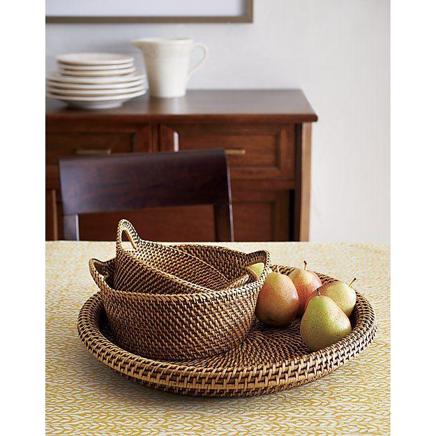 Artesia Small Honey Bread Basket | { home small items ...