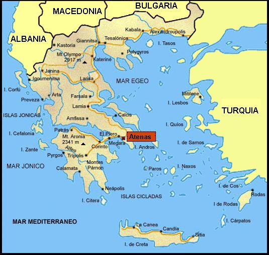 En El Siglo Vi V A D E La Actual Grecia Peninsular E Insular Era La Helade Y Su Polis Era Atenas Mapa Historico Atenas Grecia