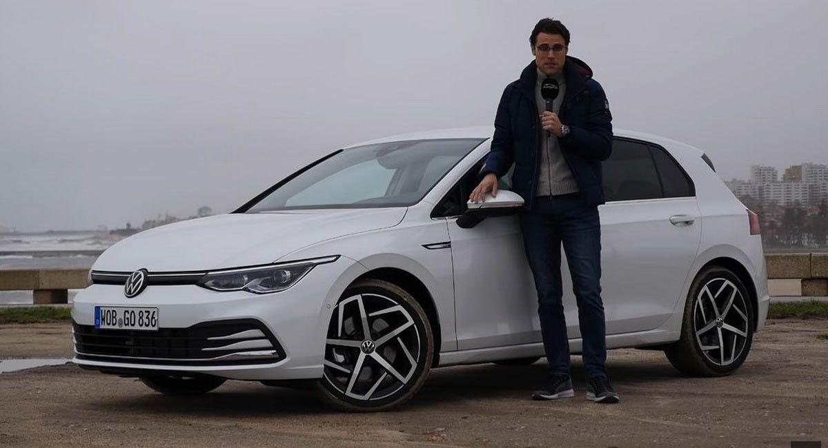First Review Of 2020 Vw Golf Mk8 Reveals Many Gains Few Letdowns Vw Golf Gasoline Engine New Golf