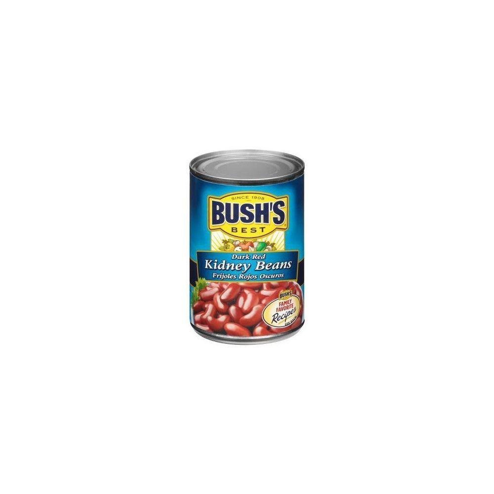 Bush S Dark Red Kidney Beans 16oz Red Kidney Bean Kidney Beans Best Beans