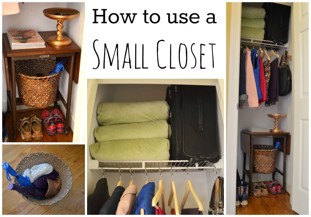 Charmant Figuring Out How To Make A Small #closet Work More Effectively Will Help  You Greatly In Organizing Your Space #storage #organization