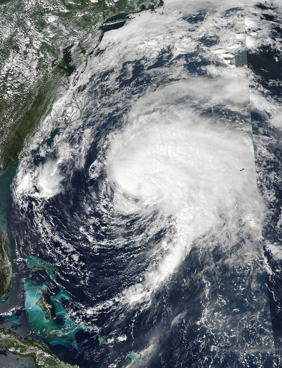 Satellite View Of Post Tropical Cyclone Jose Fading Mother Earth Japan Tropical