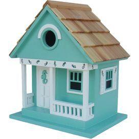 Beachcomber Birdhouse in Teal