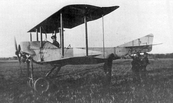 Sikorsky S-XVI (1915) was  the world's first escort fighter, designed to protect Ilya Muromets bombers.