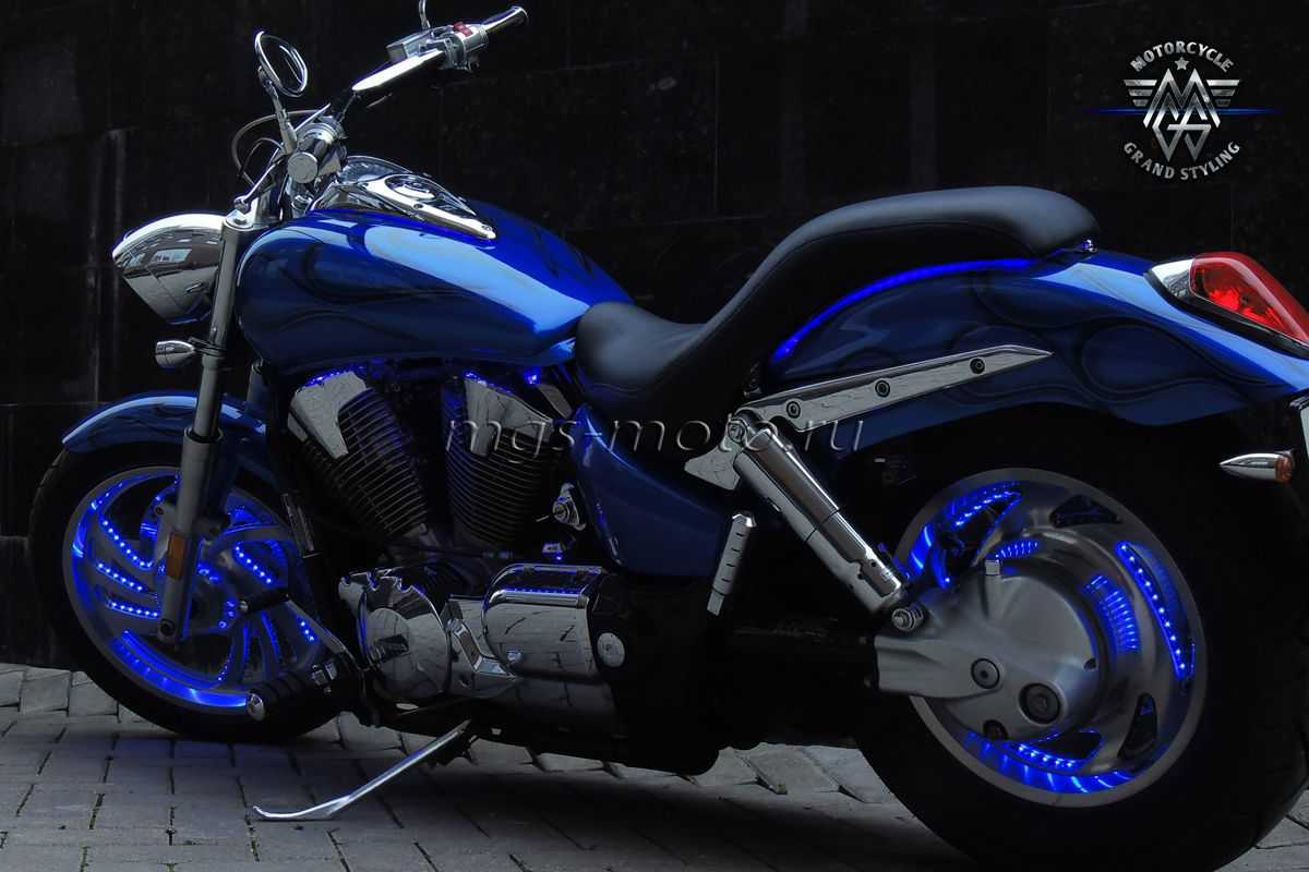 Подсветка колес мотоцикла 132