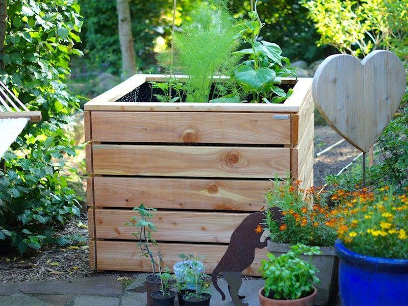 Hochbeet Holz Lange 100 Cm Hochbeet Hochbeet Holz Pflanzkasten