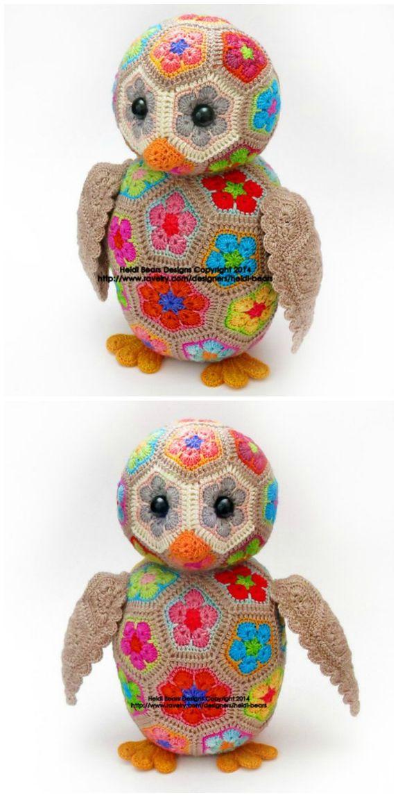 African Crochet Flower Pattern Projects You Will Love Crochet