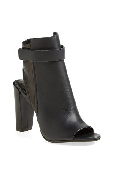 Vince 'Brigham' Open Toe Bootie | Peep toe ankle boots