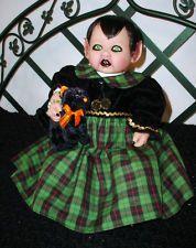 OOAK vampire demon doll.  Crimson Moon Demon Babies