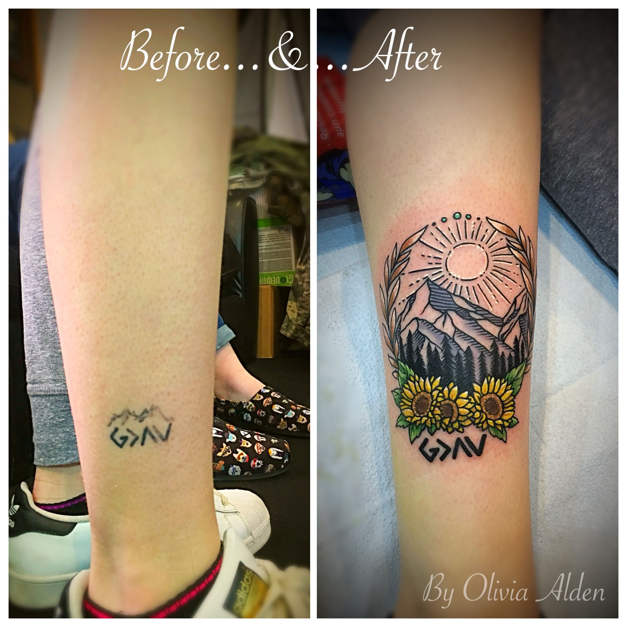 God Is Greater Than The Ups And Downs Rework Coverup
