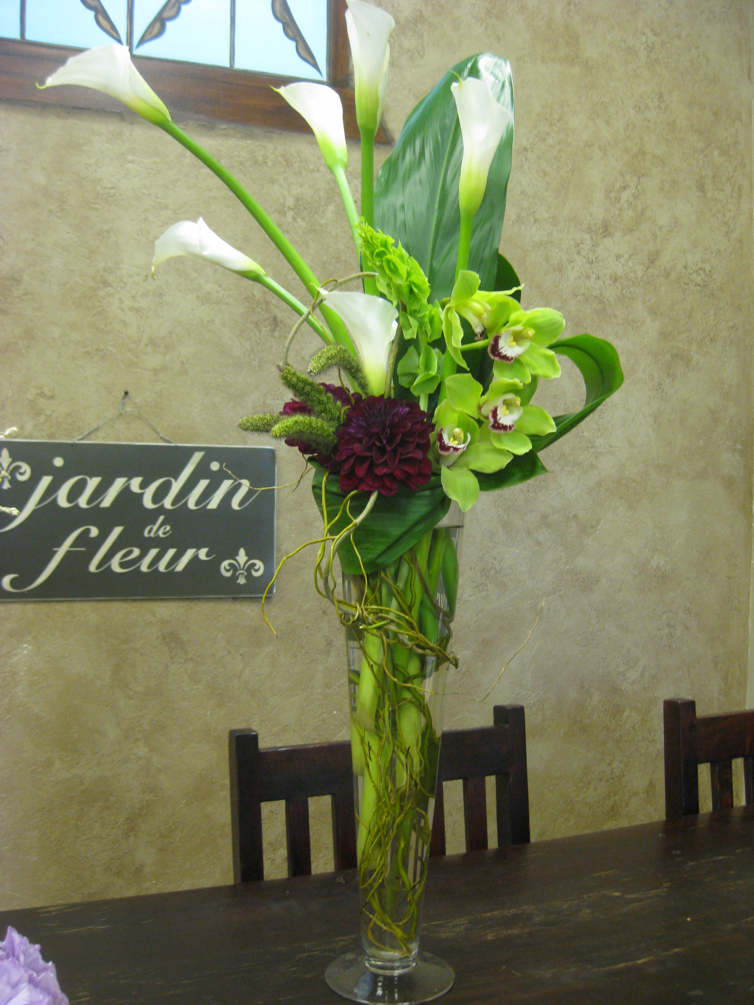 Large tall modern flowers inspiration for restaurant and large tall modern flowers reviewsmspy