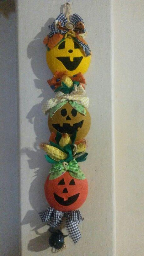 Halloween. Decoracion para puertas.
