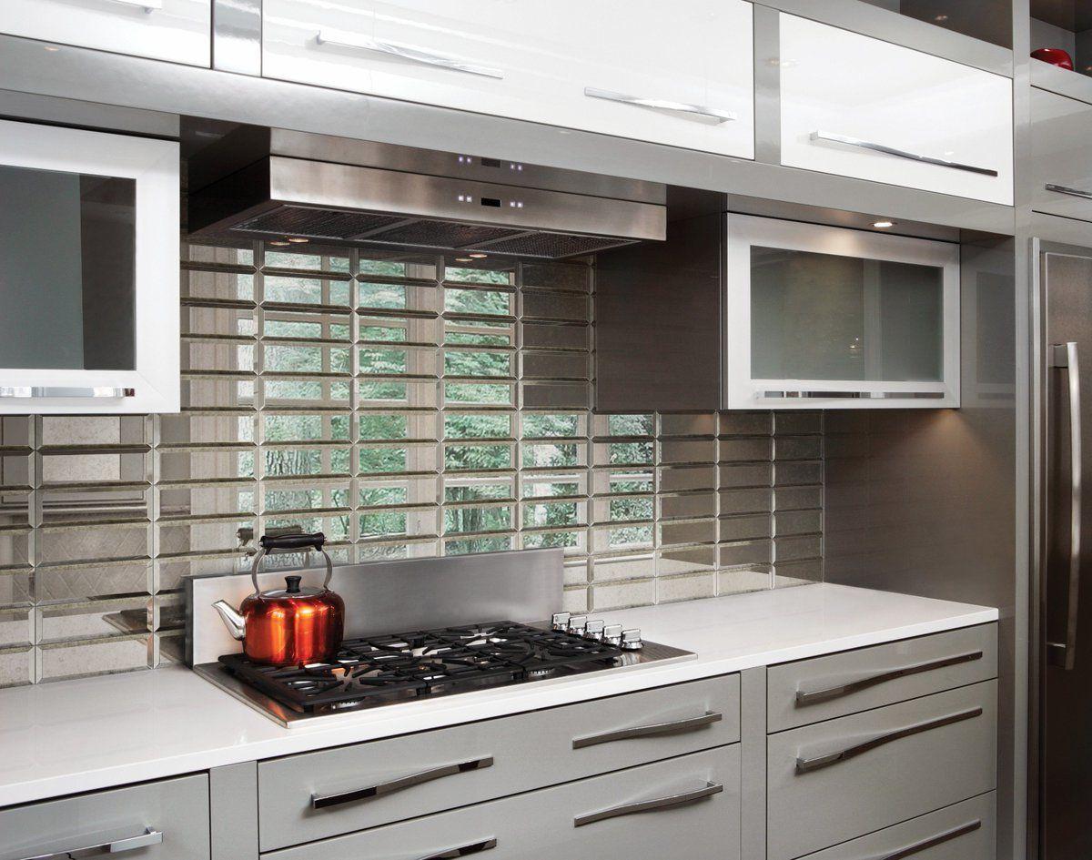 Pin On Mirror Wall Tile Kitchen
