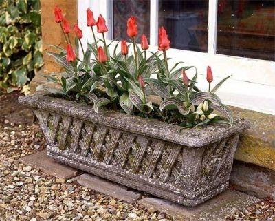 Stone Garden Planters And Troughs Belton wall trough planter planters trough planters and garden belton wall trough garden planter workwithnaturefo